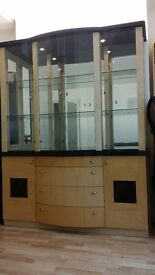 Harveys Italian display cabinet
