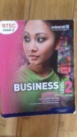 BTEC Business Level 2 - Edexcel first certficate