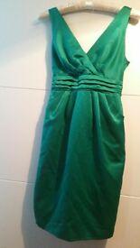 Jade Green BHS Eleanor Bridesmaid Dress