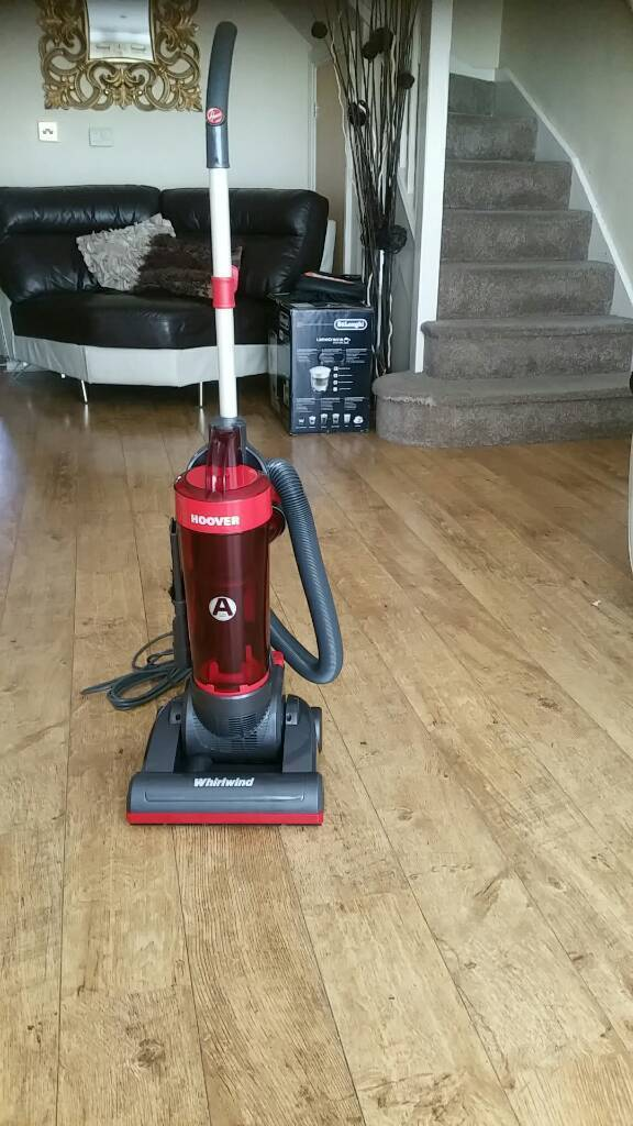 Hoover Wr71wr01001 Whirlwind Bagless Upright Vacuum Cleaner 750w Red Large 2 5l Bin