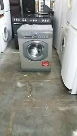 HOTPOINT SILVER 7KG WASHING MACHINE 3 MONTHS GUARANTEE