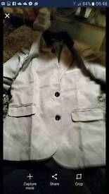 Mens brand new size meduim blazer Milarty style very modern and nice too large for my man