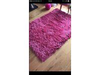 Pink rug 120x170