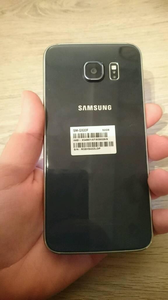 Samsung S6 in blue
