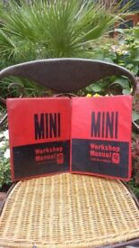 Mini work shop manuals.