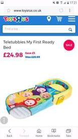 Teletubbie ready bed