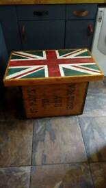 Recycled tea chest