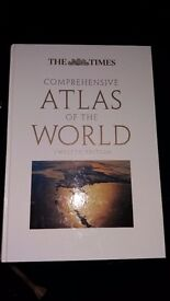 THE TIMES COMPREHENSIVE ATLAS OF THE WORLD 12th EDITION VERY LARGE BOOK! (OPEN TO OFFERS) Available!