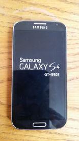 Samsung Galaxy S4 (UNLOCKED) BLACK