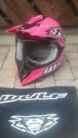 Motocross Wulfsport kids helmet