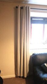 Beige Curtains For Windows Or Patio Doors Under 8 Months Old