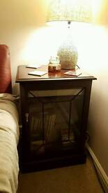 Record player cabinet/display cabinet