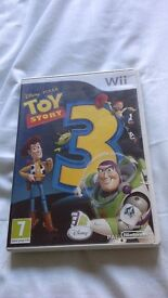 Nintendo wii game. Toy story 3