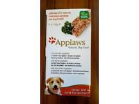 Applaws Natural Dog Food Multipack box of 5 x 150g trays - 16 boxes available