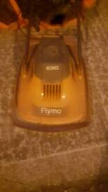 A Flymo lawnmower