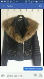 leather jacket new xl