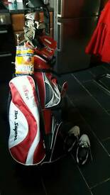 Golf set up
