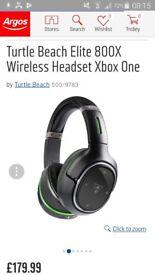 Turtle Beach elite 800x Wireless Headphones for Xbox One