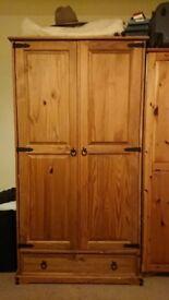 Wardrobe Free standing wood