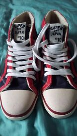 Superdry Basketball Boots / Trainers - Worn Once, Excellent Condition