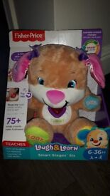 Fisher Price Laugh & Learn Teddy (Brand New with Labels)