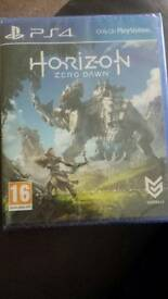 Sealed Horizon zero dawn ps4