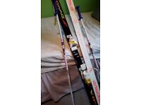 Salomon boots (4), dynastar skis (170)