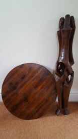 African occasional table
