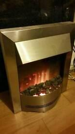 Dimplex electric fire chrome 2kw ELD20