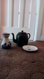 Old metal tea pot