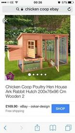 Chicken coop (no run) ***can deliver for free*****