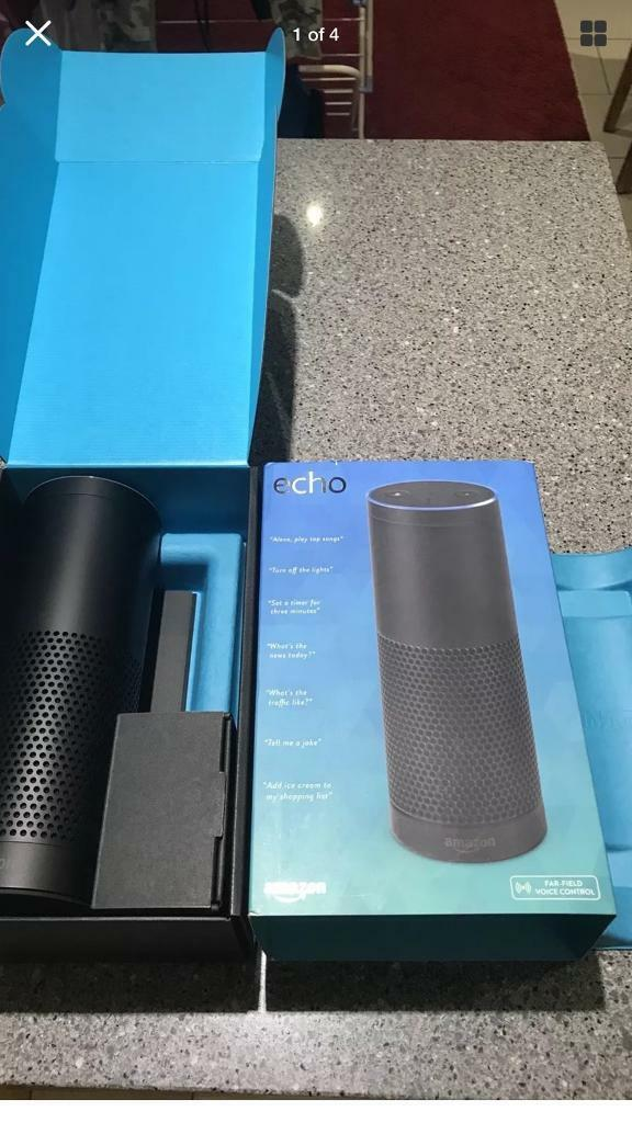 Amazon Echo Voice Controlled Smart Speaker - Alexa