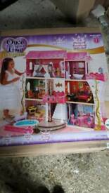 Kidkraft large wooden dolls house