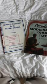 Drum tutorial books originals Jim Chapin