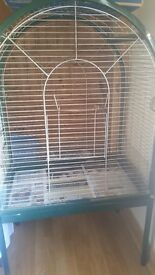 large bird cage for sale would suit parrots or smaĺl birds