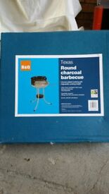 B&Q Texas 45cm round charcoal barbeque