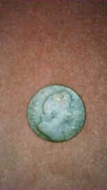 William the 111 halfpenny