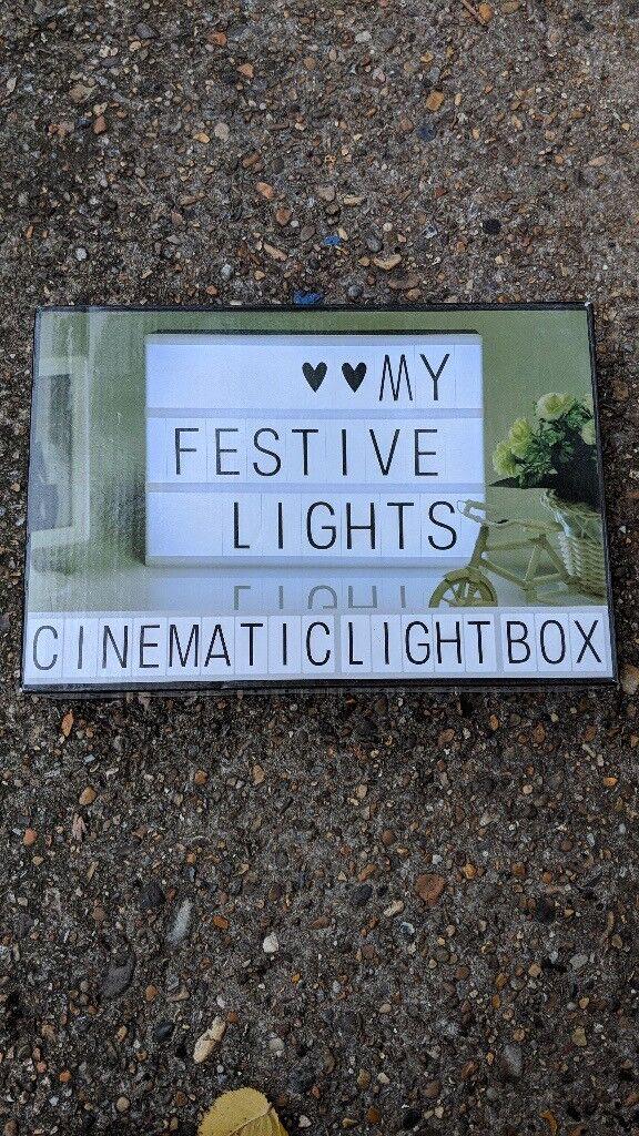 A4 cinematic lightbox