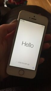 Gold iPhone 5s - Brand new condition