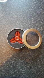 Spiderman steel Fidget Spinner with case