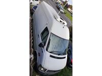 Volkswage Lt 35 mwb 2004 2.5d Fridge freezer 84,000 low mileage lowest around Over night plug in