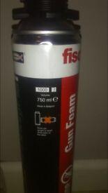 10x new Fischer fire stop gun foam