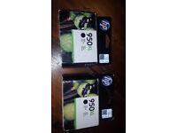 2x HP ink 950xl - Genuine HP