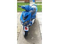 Leaner legal speedfight 50cc scooter motorbike have a look