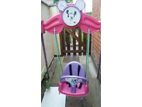 Disney Minnie Mouse Todler Swing