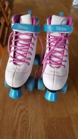 SFR Vision II Girls Quad Roller Skates, size UK 5, EU38, little used