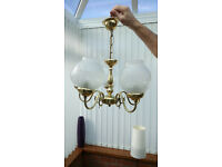 Lounge/diningroom centre lights, wall lights and single globes