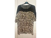 river island ladies top size 18