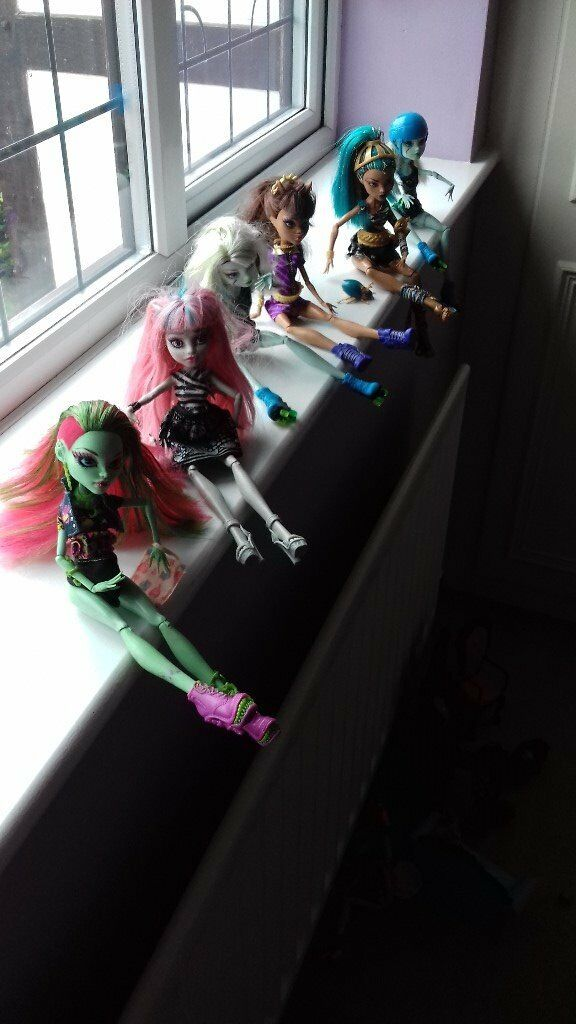 Monster High Dolls Total of 6