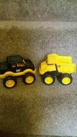 Caterpillar trucks
